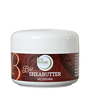 BIO Sheabutter *B* Basis Hautcreme Body Butter BIOMOND / DAS ORIGINAL / 150 g