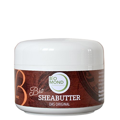 BIO Sheabutter *B* Basis Hautcreme Body Butter BIOMOND / DAS ORIGINAL / 150 g -