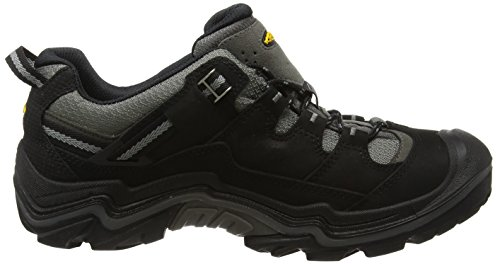 Keen Durand Low Wp, Chaussures de Randonnée Basses Homme Noir (Black/Gargoyle)