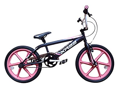 "Harlem XR22 Girls BMX Bike Freestyle 11"" Frame 20"" Wheels"