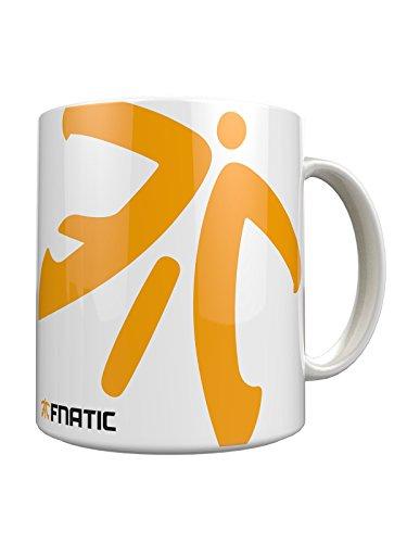Fnatic Ceramic Mug, Logo, White