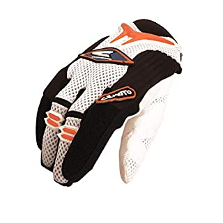 Cemoto 621210S Aerotek Glove, Orange KTM, Size S