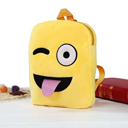 Imagen de goodsatar emoji lindo emoticon hombro escuela  para  infantil bolso de la  de la taleguilla g  alternativa