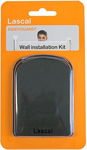 Outlet Kit (Lascal T-LAS-12564/5 Wandausgleich-Kit für Kiddyguard, Schutzgitter, schwarz)