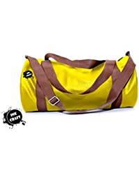 Gym Bag By InkCraft Fitwell Polyester 23 Ltrs Medium Gym Duffle Sports Bag For Men/Women