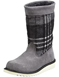 Wolverine ASHLEY - GREY LEATHER W00377 Damen Fashion Stiefel