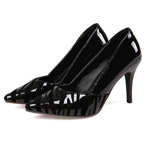 Coolcept Femmes Bout Ferme Escarpins Black