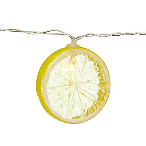e Melone Zitrone Orange Annanas Batteriebetrieb Obst (Zitrone) ()