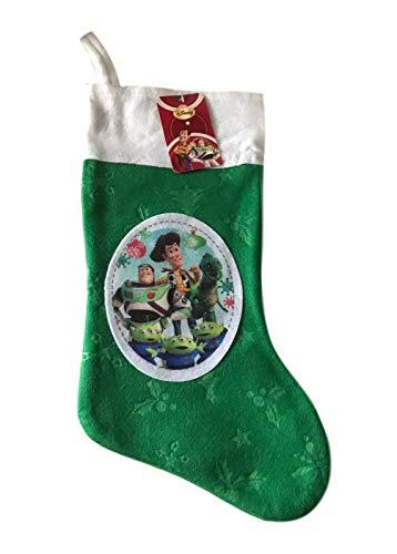 Peaceomind Disney Toy Story Filz 45,7 cm grün Weihnachten Urlaub Strumpf Patch Foto Design