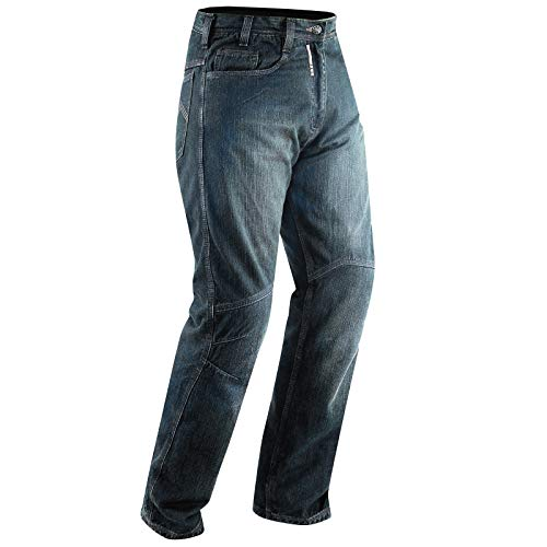A-pro jeans ce armored motorcycle, moto, scooter, quad, pantaloni denim blue 38