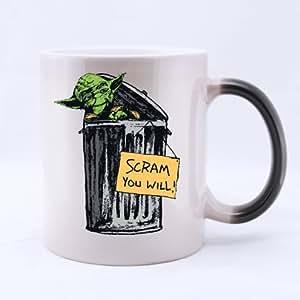 Mug en céramique Motif Alien Morphing, Mug Motif citation humoristique en anglais