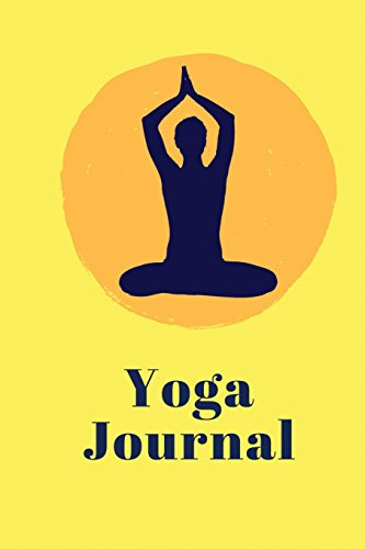 yoga-journal-yellow-cover-6-x-9-daily-yoga-journal-blank-book-notebook-durable-cover100-pages-diary-