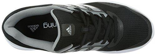 adidas Duramo 7 M Herren Laufschuhe Schwarz (Core Black/Silver Metallic/Ch Solid Grey)