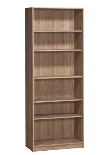 MAJA-Möbel 1837 5525 Regal, Sonoma-Eiche-Nachbildung, Abmessungen BxHxT: 72,2 x 189 x 35 cm
