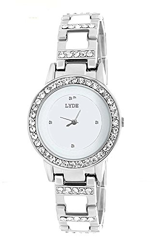 LYDE Analogue White Dial Womens Watch LY0017