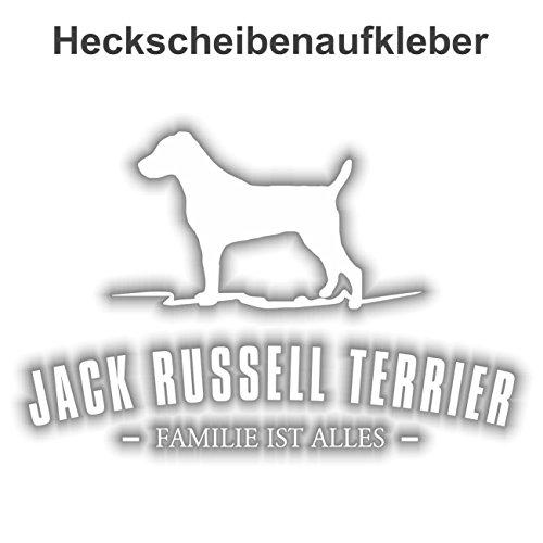 Aufkleber Jack Russell Terrier wetterfester