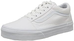 Vans Old Skool, VD3HW00,  Unisex-Erwachsene Sneakers, Weiß (True White), 39 EU