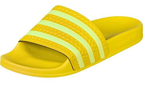 adidas Damen Adilette W Aqua Schuhe, Mehrfarbig Semi Frozen Yellow Ee7449, 42 EU -
