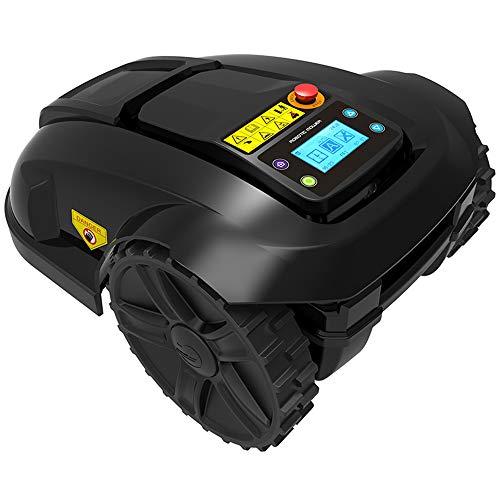 WARM WORM Elektrischer intelligenter Rasenmäher, Roboter-Rasenmäher, intelligenter intelligenter Roboter-Rasenmäher, Garten-Rasenmäher-Werkzeug mit APP