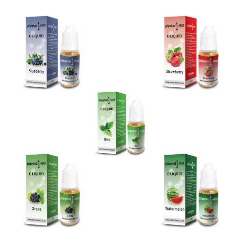 5-Fruit-Mint-Pack-Diamond-Mist-E-Liquid-Herbal-Shisha-Pen-Flavour-Vape-0mg-Nicotine