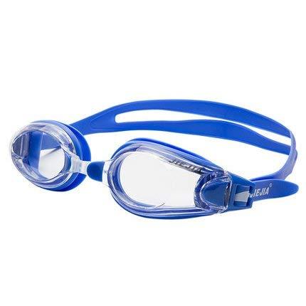 WENYAO Schutzbrillen Männer und Frauen Flache Myopie Schwimmbrille Cap HD Adult Nebel wasserdichte Schwimmausrüstung