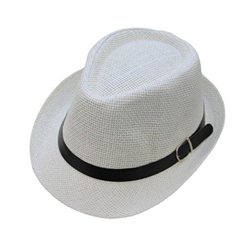 ZARLLE Sombrero De Jazz BritáNico Sombrero De Paja De Sombra De Playa  Transpirable Al Aire Libre e430af67068