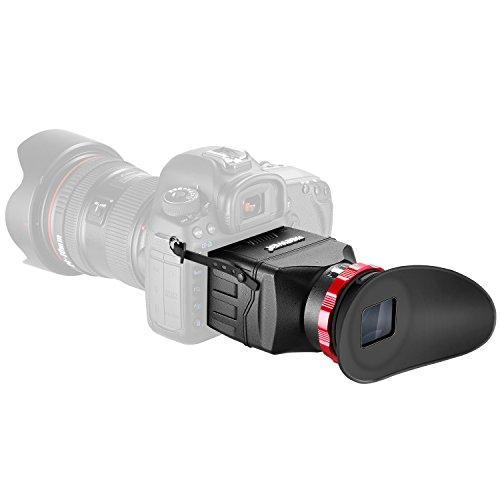 Neewer 3 1 Mirino Ottico Professionale S7 – Usato come Protezione di Schermo Parasole & Visore da Ingrandimento 3X per Canon 1DX/1DXII & Altre