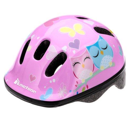 Meteor Fahrrad-Sicherheitssturzhelm für Baby, Kinder, Jungen, Größe S.