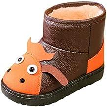 ZODOF Bebé Niños Zapatos Lindos Niños Bebés Infantil Niñas Invierno Conejo Oído Blings Lentejuelas Botas de