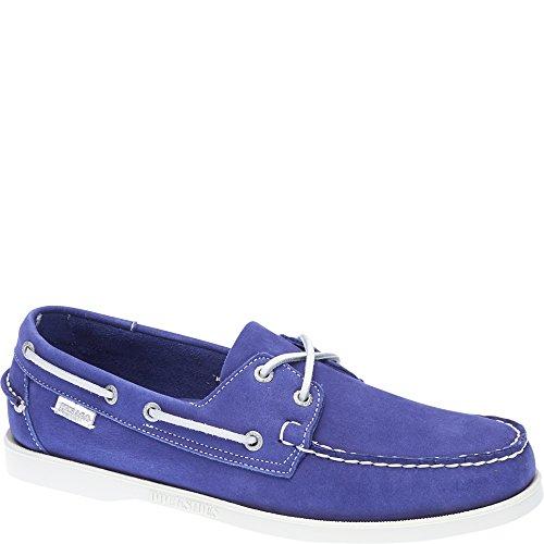 Sebago DOCKSIDES Velours Herren blau violett Bleu Violet