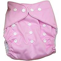 Aivtalk Bebé Niño Niña Pañal de Tela TPU Transpirable Lavable Reutilizable Cloth Diaper con Botones