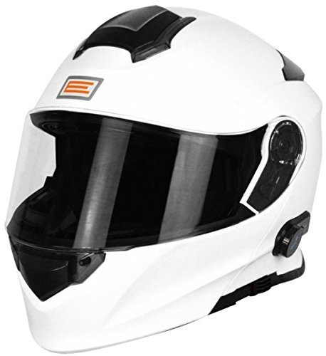 Origine Helmets 204271718100005 Delta Solid casco desmontable con Bluetooth integrado, blanco, L