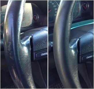 Colourcare24-Kit-ritocco-vernice-Volante-in-Pelle-eco-pelle-similpelle-per-Alfa-Romeo-ripristina-colore-sterzo-tonalit-Nero-opaco-satinato-da-30-ml-di-semplice-applicazione-alternativa-al-copri-volant