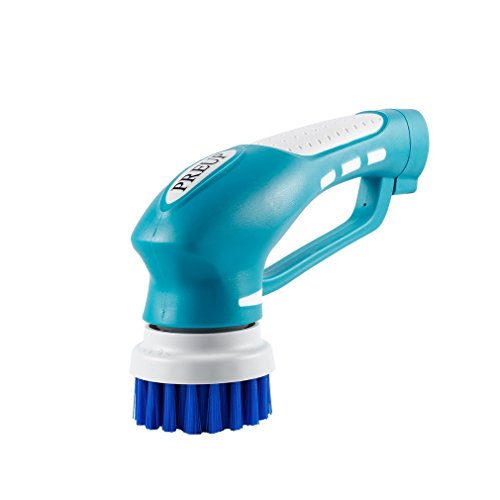 PREUP Limpiador Electrico Eléctrico Cepillo de limpieza Conjunto de herramientas de mano multifuncional de 7 Piezas Descontaminación recargable de suciedad de aceite Cocina Baño Impermeable