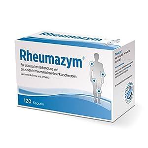 Rheumazym – Natürliche Hilfe bei Rheuma, Arthrose, Arthritis und Gelenkschmerzen | Naturkraft Formel (Kapseln)