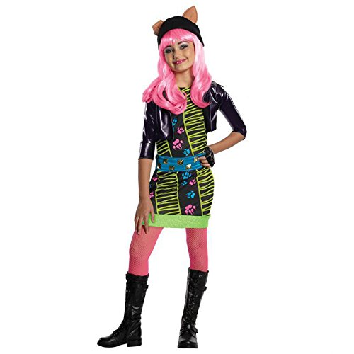 Monster High Howleen Gr. M (5-7 Jahre) Fasching Karneval Kostüm Kinderkostüm Mottoparty Kleid Boo (Boo Monster Kostüm)