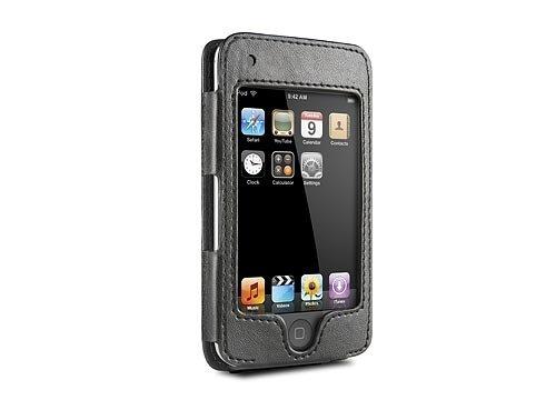 divers Etui en Cuir HipCase noir DLO pour iPhone (2G/3G/3GS)