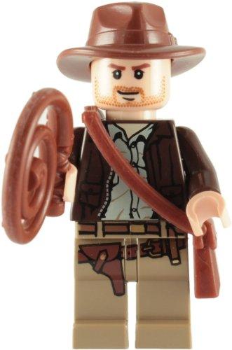 Indiana Jones mit Peitsche und Tasche (Indiana Jones Zubehör)