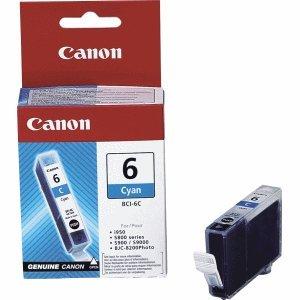 Canon Tintenpatrone Canon BCI-6 C cyan (Canon Bci-3 Inkjet-patrone)