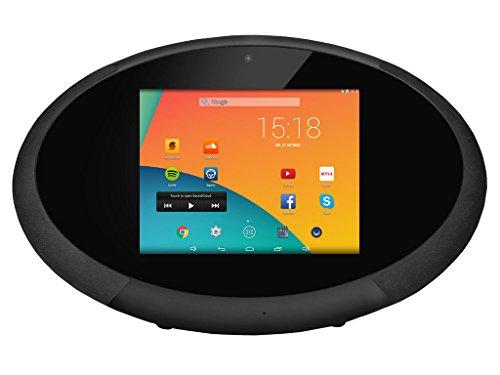 Orbsmart HiFiPad 22,6 cm (8 Zoll) Android 4.4 Internetradio (Dualcore CPU, 1GB RAM, 8GB int. Speicher, 1024x768 Display (4:3), LINE-OUT, WLAN-n, Bluetooth 4.0, 3000mAh Akku, 2.1 Lautsprecher)
