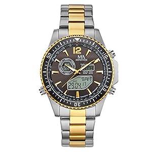 Herren-Funk-Solar-Uhr Chronograph Meister Anker