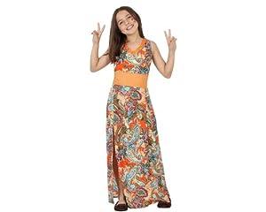 Atosa-23674 Disfraz Hippie, Color naranja, 4 años (104 cm) (23674 (AmazonDe/ATOSB))