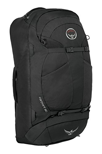 Osprey - Farpoint 80, color volcanic grey, talla 80 Liters-M/L