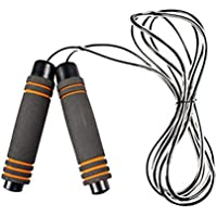 VORCOOL Entrenamiento físico La Mejor Cuerda para Saltar con empuñaduras de Espuma con Memoria y Cuerdas para Saltar por el Cable de Velocidad