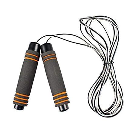 VORCOOL Entrenamiento f sico La Mejor Cuerda para Saltar con empu aduras de Espuma con Memoria y Cuerdas para Saltar por el Ca