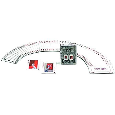 Juego de cartas, 52 cartas y 2 Joker rojo, poker
