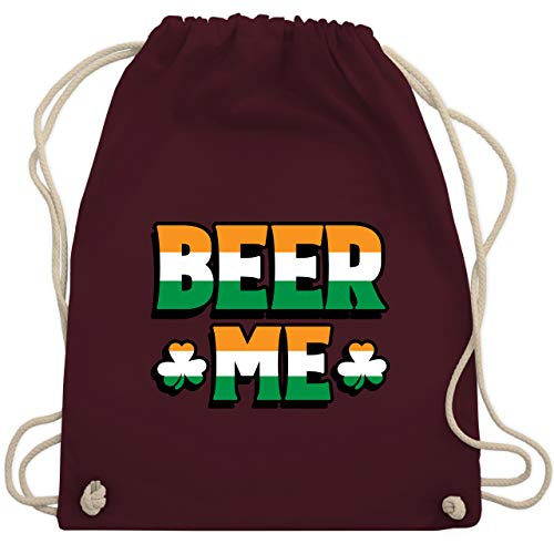 St. Patricks Day - Beer Me - St. Patricks Day - Unisize - Bordeauxrot - WM110 - Turnbeutel & Gym Bag