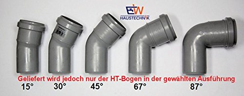 Fürs Dach Neu Heimwerker Neueste Kollektion Von 4 X Marley Rohrbogen Dn 75-67° Grau
