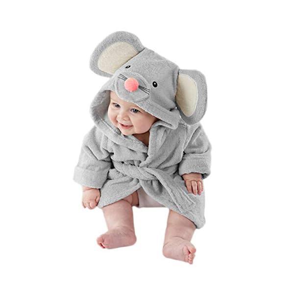 Pijama de dibujos animados para bebé (gris) small gris 3