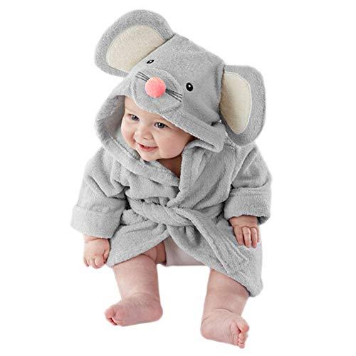 Baby Pajamas, toalla de baño con capucha para bebé de alta calidad,...